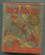 BUCK RUDGERS 25TH CENTURY AD (VG) LITTLE BIG BOOK 1933
