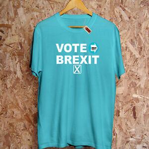 Vote Brexit Party T-Shirt General Election Nigel Farage Brexiteer Leave