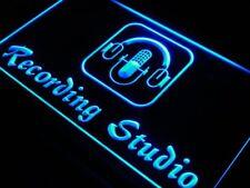 i801-b Recording Studio Microphone Bar Neon Light Sign