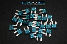 (100) PCK ATM 15 AMP FUSES MINI FUSE BLADE STYLE CAR BOAT AUTOMOTIVE AUTO ATM15