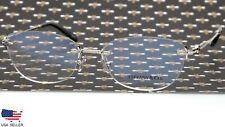 "TIFFANY & Co TF 1095-H 6001 SILVER EYEGLASSES GLASSES 53-17-140 B37 Italy ""READ"""