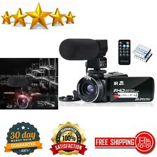 Video Camera Camcorder WiFi  Night Vision YouTube Vlogging Touch Screen Digital