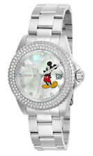 Invicta Women's Watch Angel White Mother of Pearl Dial Steel Bracelet 26238