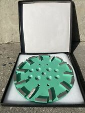 """NEW 10"""" x 20 Segment Concrete Grinding Disc for EDCO Grinders"""