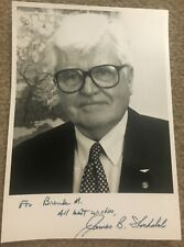 Vice Admiral James Stockdale Autographed Photo Medal of Honor winner