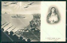 WW2 WWII Propaganda Esercito Italiano fascismo Santino Foto cartolina XF6946