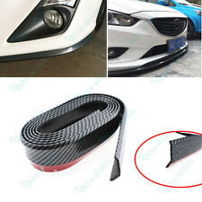 Nice 2.5M Rubber Front Bumper Lip Splitter Chin Spoiler Body Kit Trim For Nissan