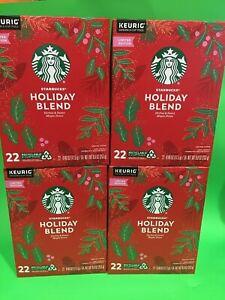 Starbucks HOLIDAY BLEND Medium Roast K-Cup Keurig Pods 88  Expire 5/2021
