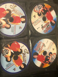 6 NIGERIAN VCD  MOVIES SINGLE AND MARRIED 1 AND 2, NO ONE BUT YOU MANY MORE