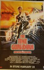 The Time Guardian 1990 Folded 25 x 38 Movie Poster