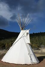 Sioux Style Backyard Tipi/Teepee - 10ft.  *Sunforger Canvas*