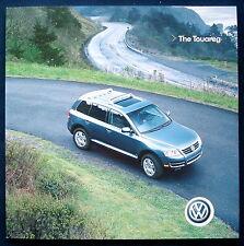 Prospekt brochure 2005 Volkswagen VW Touareg (USA)