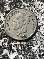 1905 Haiti 5 Centimes (7 Available) Circulated (1 Coin Only)