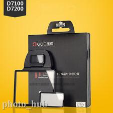 Larmor GGS III Optical Glass LCD Screen Protector for Nikon D7100 D7200 Camera