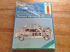 Fiat 128 1972-1979 All Models Owners Workshop Manual Haynes 087 New