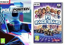 pole position 2012 management simulation & f1 race stars  new&sealed