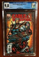 CGC 9.8 Cable & Deadpool #1 NM+ / Mint Rob Liefeld cover 2004 Perfect Slab Rare