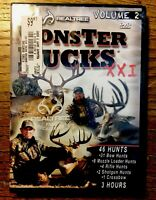 "Realtree Monster Bucks XXI Volume 2 (DVD) "" NEW"" PLASTIC SEALED"