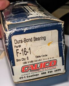 Durabond F-16-1 Camshaft Bearings Ford 477 Truck 5 Pcs Grooved Bearings