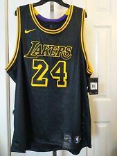Kobe Lakers #24 NBA Black Mamba Swingman City Jersey AJ6432-011