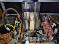 Fresh Built X99 24 Core Dual Cpu Xeon Combo server or gaming rig