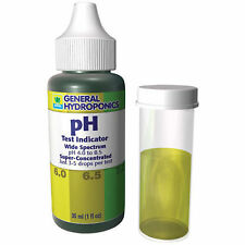 General Hydroponics pH Test Indicator Control Kit 1oz - up down wide spectrum