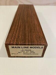 Main Line Models Pennsylvania Railroad 36' Flat Car Kit