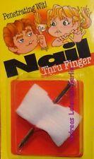 Blutiger Nagel Scherzartikel Illusion Verband Kindergeburtstag Fingernagel Blut