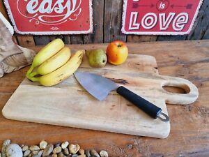 Rustikales Scheidebrett 50x30 cm Mango Holz Tranchierbrett Vesperbrett Küche