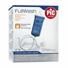 Pic Solution Full Wash Anal/Vaginal Enema Douche Travel Kit -Colonic Irrigation