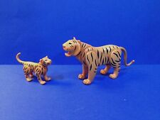 PLAYMOBIL TIGER & CUB Mother Baby Zoo Petting Jungle Animals