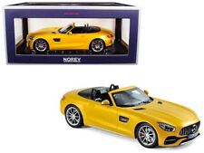 Norev 1:18 2017 Mercedes-AMG GT C Roadster (Yellow Metallic) Diecast Car 183451