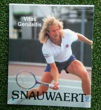 Enmiendas 1980 Vintage Snauwaert Vitas Gerulaitis Tenis Pegatina Maggia