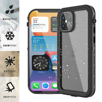 For iPhone 12/ mini/ Pro/ Pro Max /11 Case Waterproof Cover w/ Screen Protector