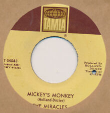 The MIRACLES Mickey's Monkey / Whatever Makes You Happy 45 rpm