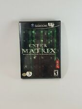 Enter the Matrix Nintendo GameCube Video Game 2003 Tested and Plays