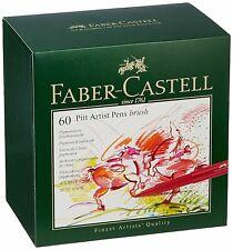 Faber-Castell Pitt Artist Pen Brush India ink Pen Studio Box of 60 - 167150