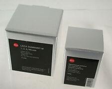 LEICA M Summarit 2,5/90 90 90mm F2,5 2,5 6-bit adaptable MFT NEX A7 NIB neu OVP
