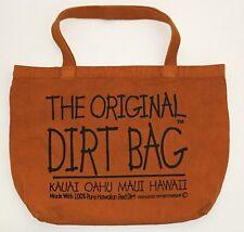 NEW Original Kaui Oahu Maui Hawaii 100% Pure Red Dirt Tote Bag
