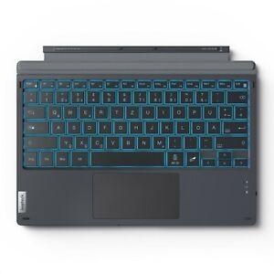Inateck Beleuchtete Surface Pro 7+/7/6/5/4/3 Tastatur, Bluetooth 5.1, QWERTZ