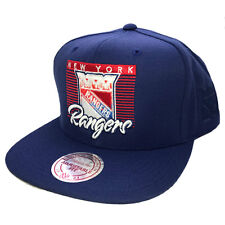 MITCHELL & NESS NEW YORK RANGERS EASY THREE DIGITAL SNAPBACK CAP