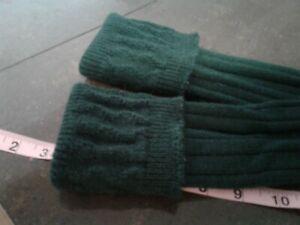 Kilt Flashes Green Tartan (2) Sets (4) flashes plus Green Hose Highland