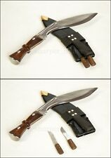 Genuine Gurkha Service Kukri Full Tang Handmade Army Combat Curved Knife Chopper