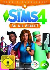 Die Sims 4 - An die Arbeit! (PC) (Neu & OVP)