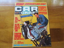 Car Craft Magazine, June 1966, SCOOP:  Chrisman's New Comet Roadster Funny Car