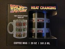 Kaffeetasse Heat Changing DeLorean Back To The Future BTTF Zurück in die Zukunft