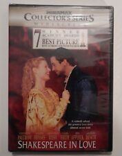 Shakespeare in Love-Miramax Collector's Series Dvd-New/Sealed-Gwyneth Paltrow.