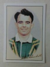 2002 AUSTRALIAN 1948 RUGBY LEAGUE TOURISTS #4 clive Churchill card, souths