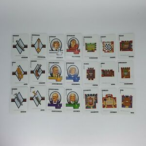 Clue Replacement Cards 1986 Weapons Crime Scene Suspects Full Set 0045