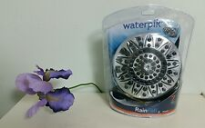 Waterpik VFC-133 Rainfall+ Shower Head with 1 spray setting, New and Unused